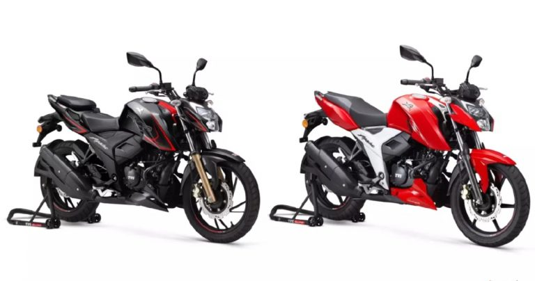 TVS Hikes Price of Apache RTR 160 4V and RTR 200 4V Yet Again!