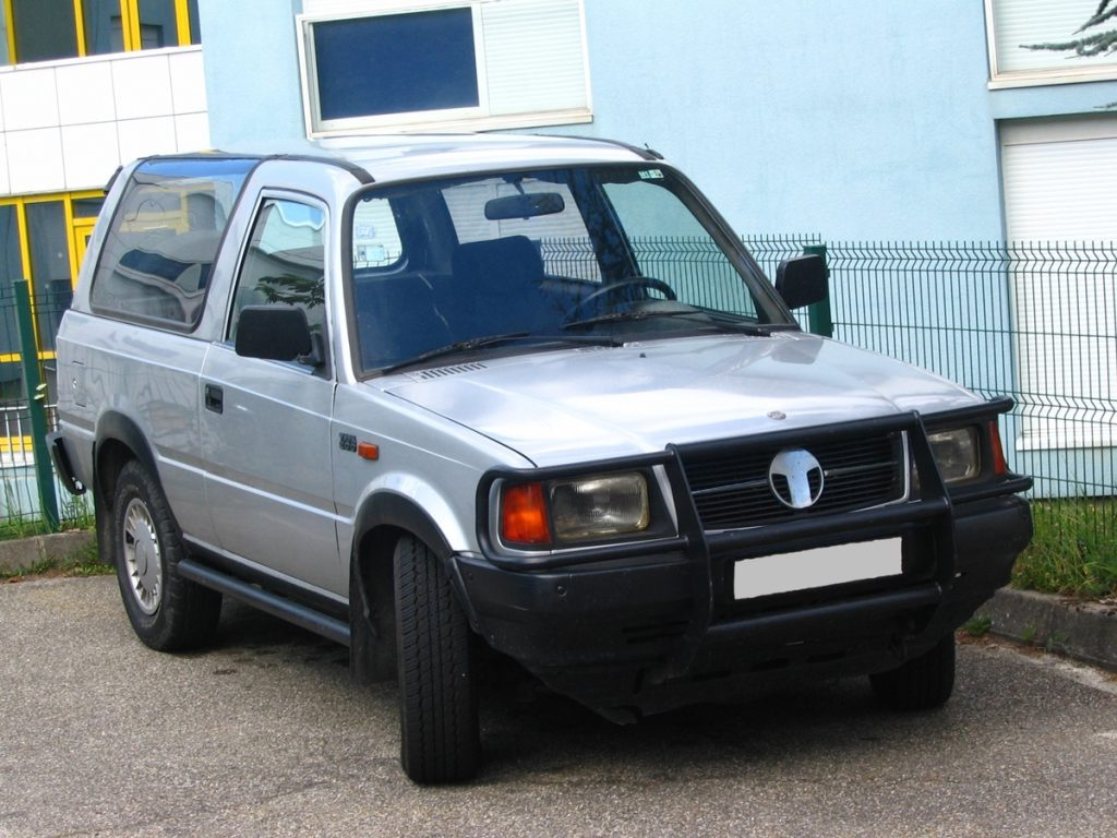 The Tata Sierra never had the commercial success like some other cars here but is really an icon.