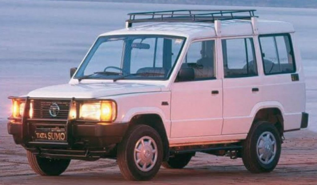 The Tata Sumo is one of longest serving cars in India for 25 years before it was discontinued last year.