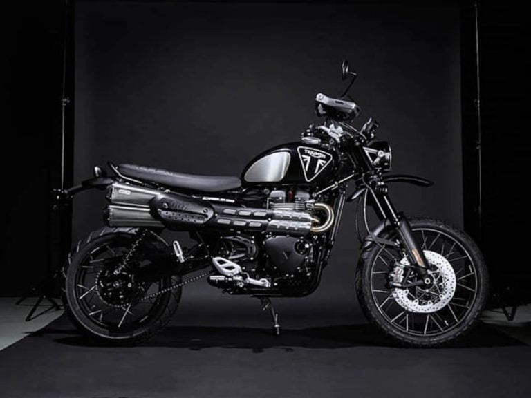 The Triumph Scrambler 1200 Bond Edition is a Perfect 007 Ride!