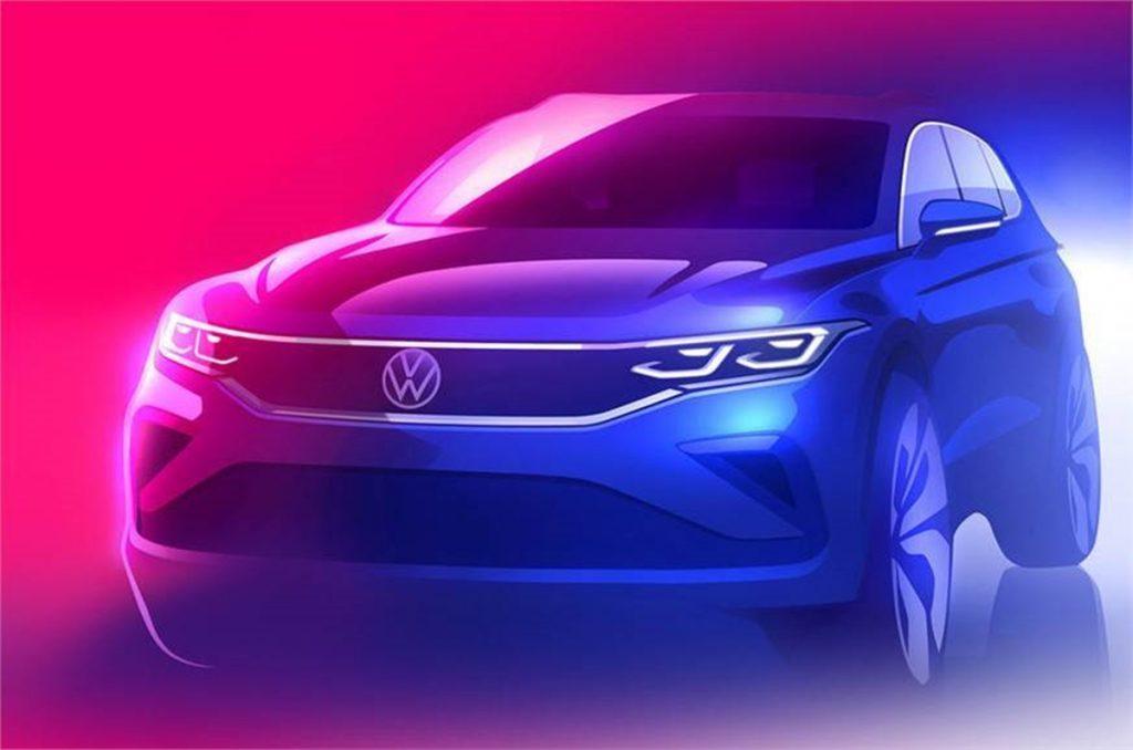 Le Volkswagen Tiguan 5 places fera son retour en Inde avec un feclift