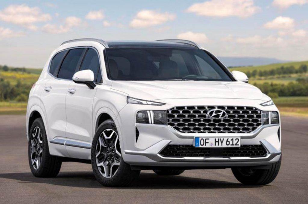 Hyundai dévoile tous les nouveaux VUS Santa Fe 2020 à l'international.