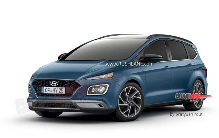 Here's How The Upcoming Hyundai MPV Could Look Like – Rendering