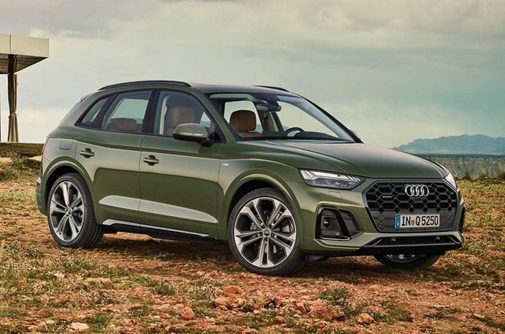 Audi has revealed the Q5 facelift globally.