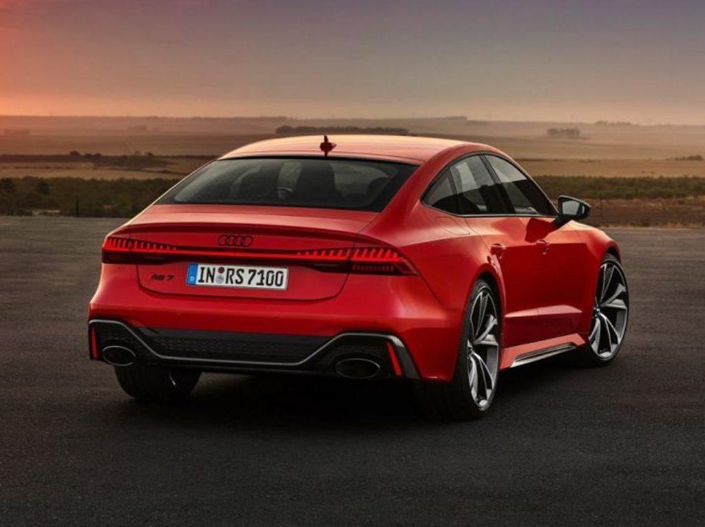 L'Audi RS7 devrait coûter environ Rs 1,8 crores en Inde.
