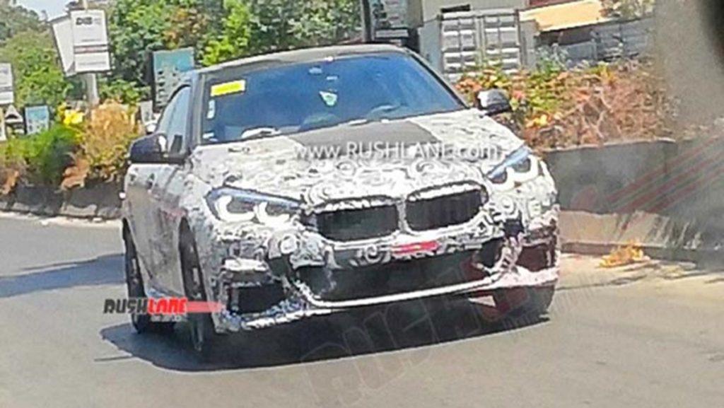 Ce sont de nouvelles images de la BMW Série 2 Gran Coupé prises à Pune lors du verrouillage.