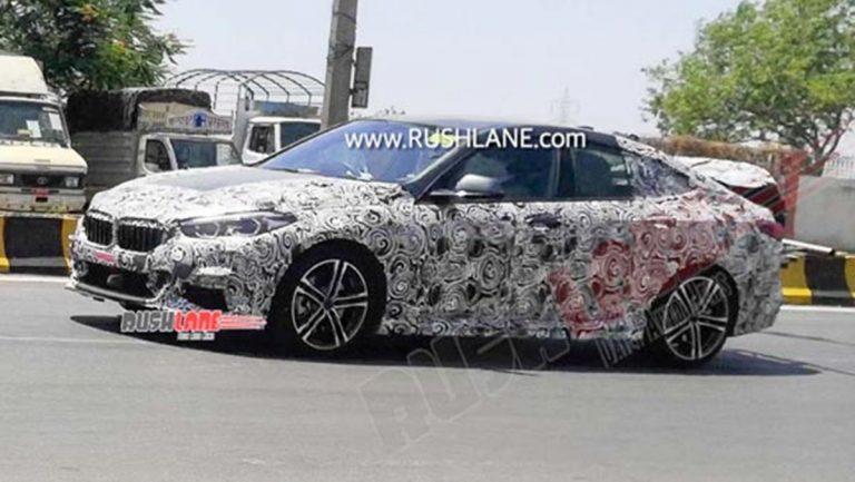 BMW 2 Series Gran Coupe Caught Testing in Pune During Lockdown!