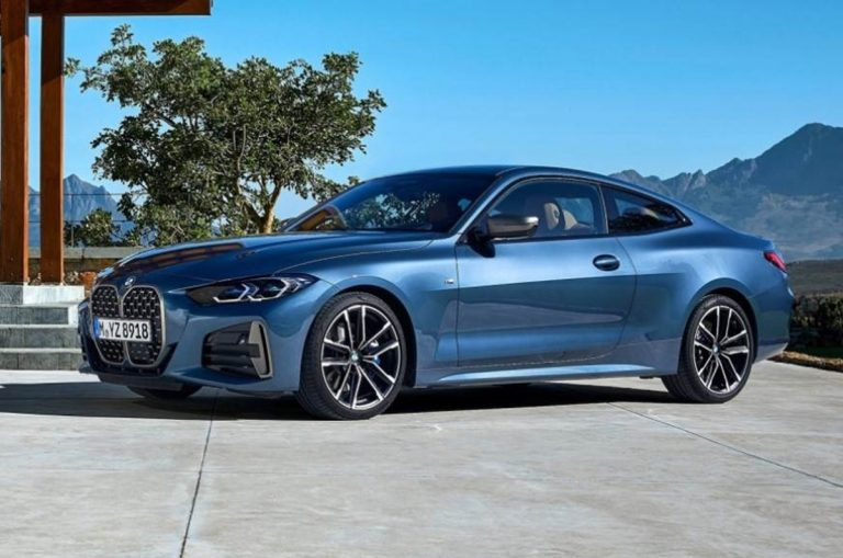 Here's the 2020 BMW 4 Series Coupe and the Grille Keeps Getting Uglier!