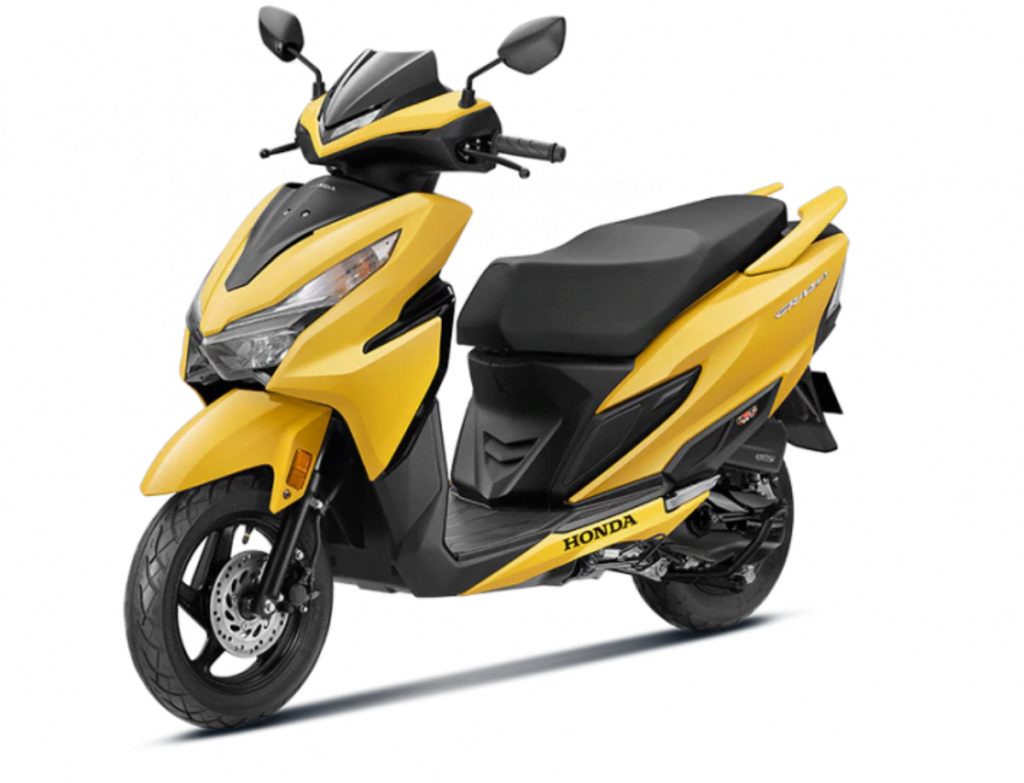 Honda just launched the BS6 Grazia 125 for a price of Rs 73,336 ex-showroom.