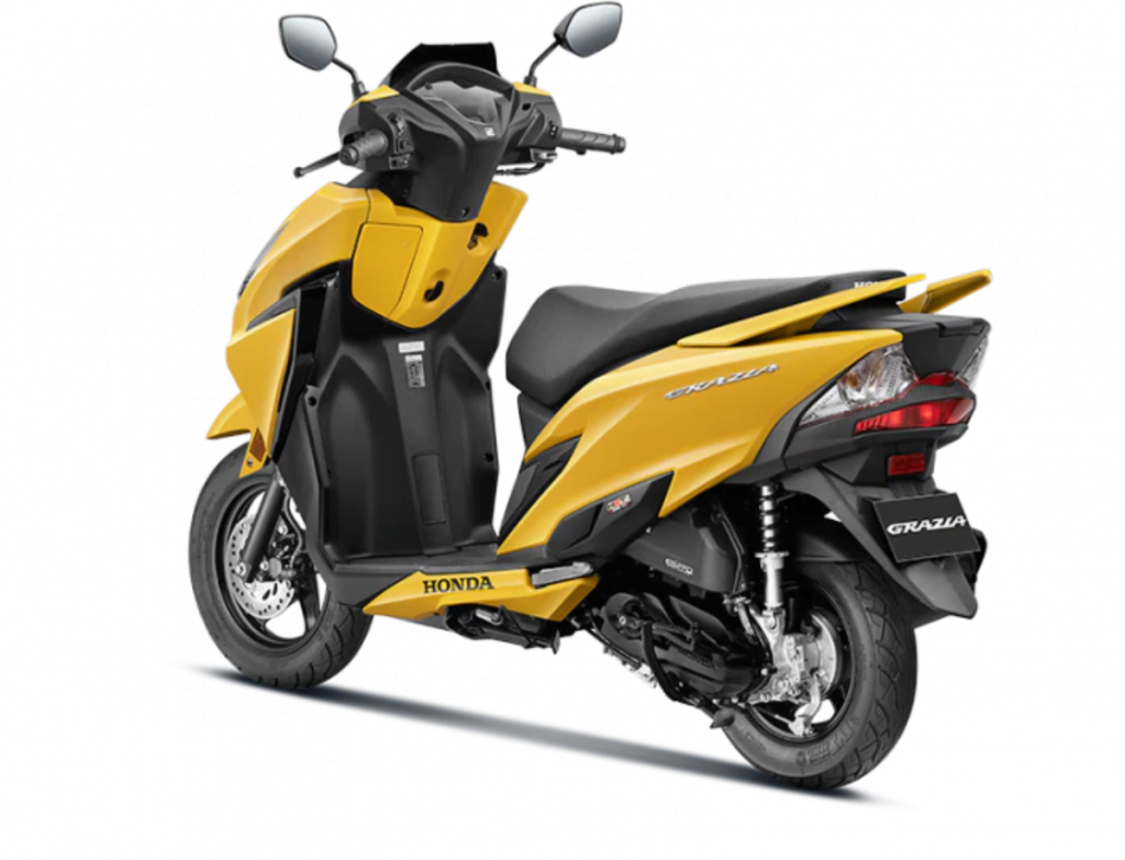 The BS6 Honda Grazia 125 is Rs 13,000 more expensive than the launch price.