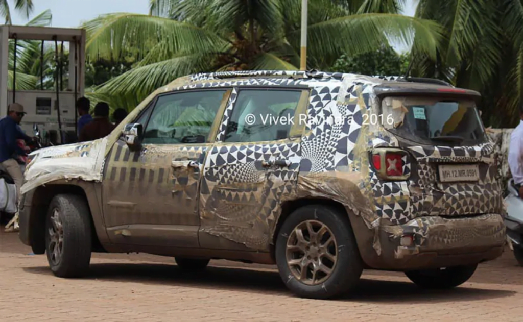 Jeep Renegade Spied In India Launching Soon Not Really