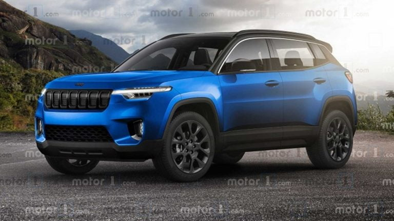This Rendering Shows What the Jeep Sub-Compact SUV Could Look Like!