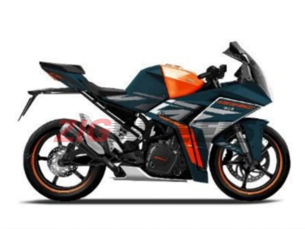 This is an earlier seen image of a new KTM RC that could very well be the new RC 490.