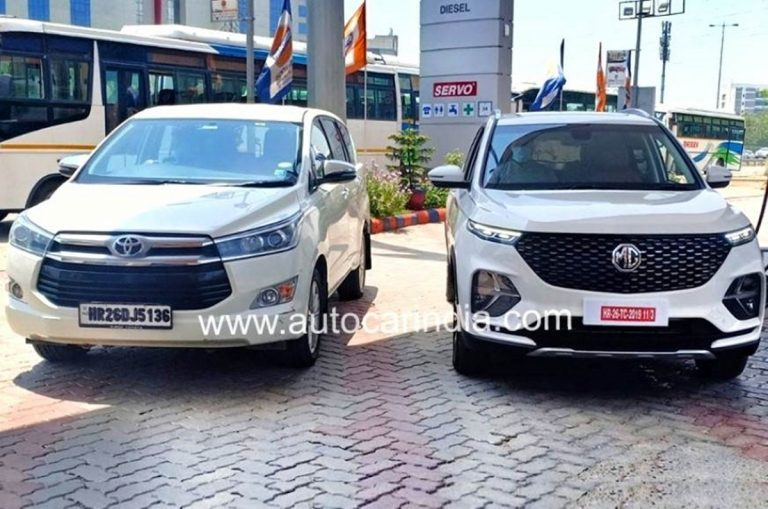 MG Hector Plus to Rival Innova Crysta as a Much Cheaper Alternative!