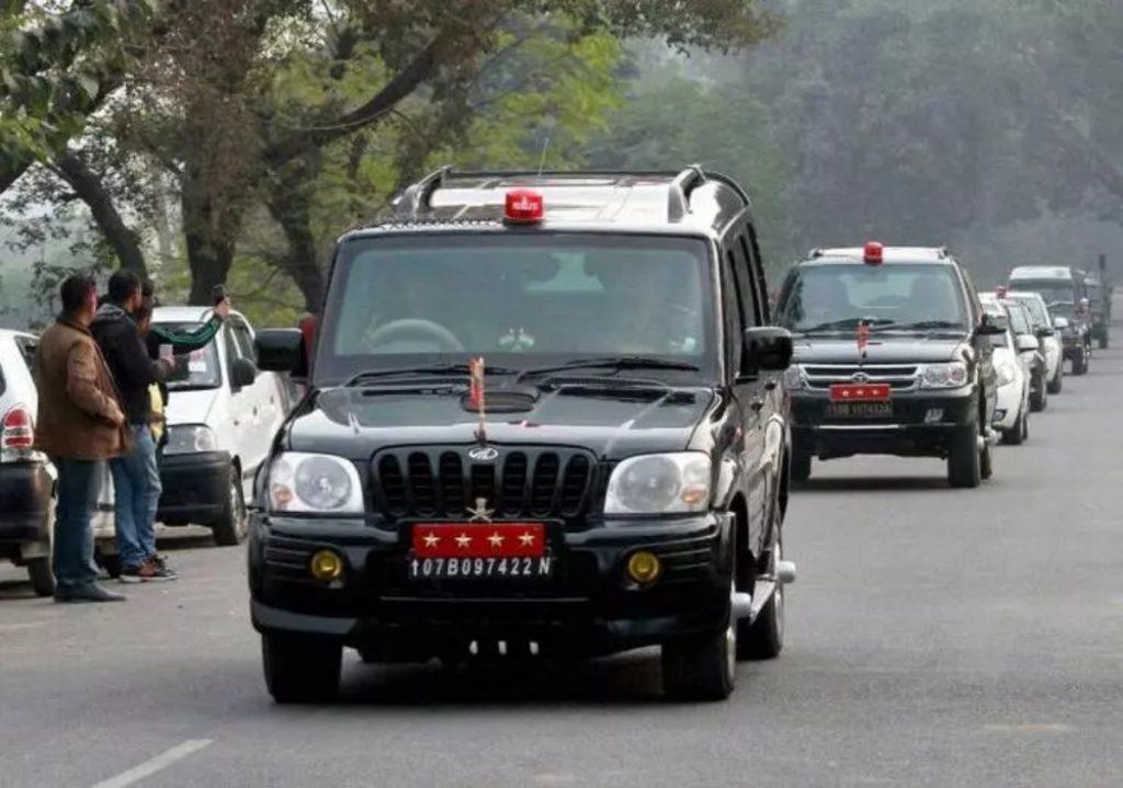 Le Mahindra Scorpio 4x4 a été l'un des véhicules les plus modernes utilisés par les forces de défense indiennes