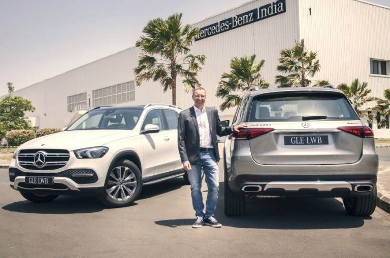 Mercedes Benz Launches Two More Variants of GLE in India – GLE 450 and GLE 400d