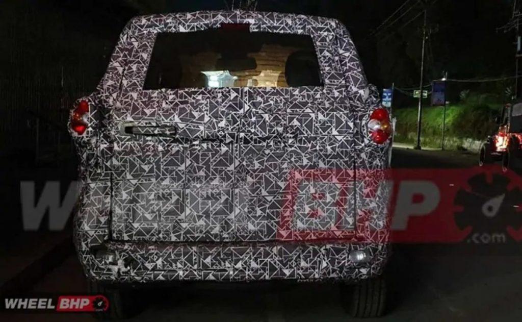 Le nouveau SUV sera beaucoup plus premium assis sur un châssis à échelle mis à jour.