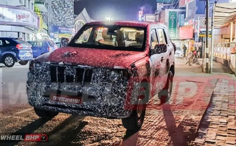 Here's Another Fresh Look at the Next-Gen Mahindra Scorpio!
