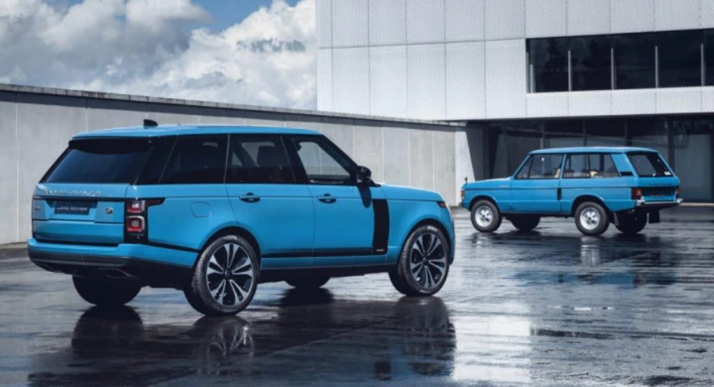 Currently, the Range Rover is in its forth-generation.