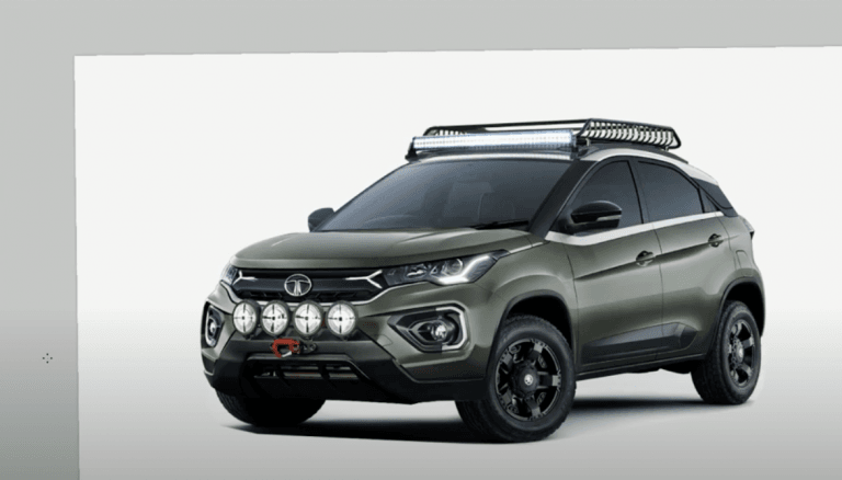 Here's How The Tata Nexon Would Look Like If It Was A Hardcore Off-Roader