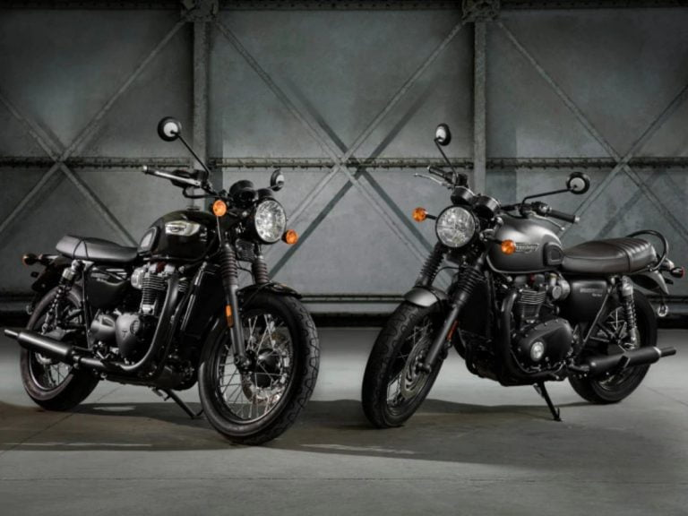 Triumph Launches Bonneville T100 and T120 Black Editions in India!