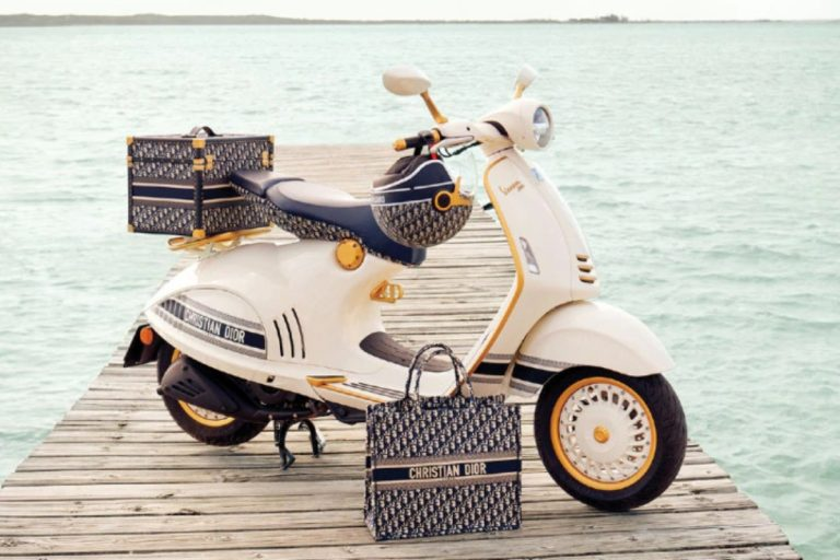 After Armani, Here's a Vespa 946 Built in Collaboration With Christian Dior!