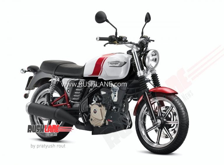 Here's How The Bajaj Triumph 2 Lakh Motorcycle Could Look Like