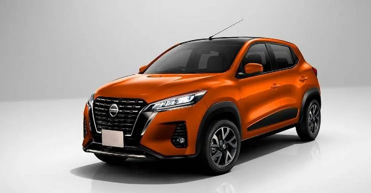 2020 - [Nissan] SUV EM2 Front-side-look-of-magnite-65da