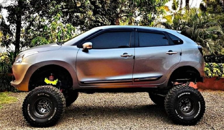 This Modified Maruti Baleno Wants To Become A Monster Truck