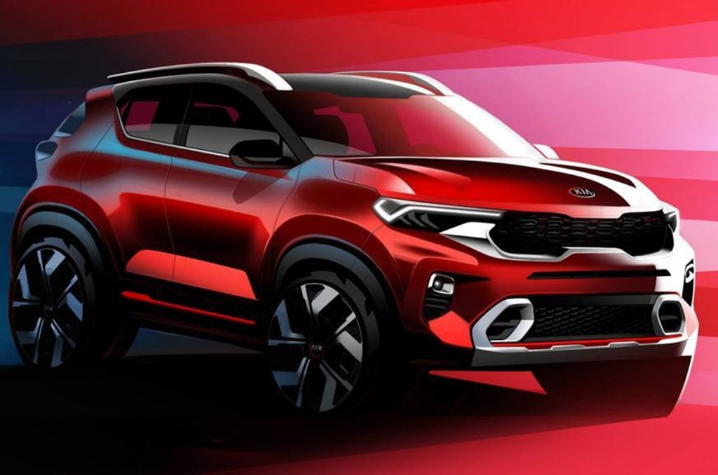 Kia has unofficially started taking bookings for the Sonet for a token amount of Rs 25,000.