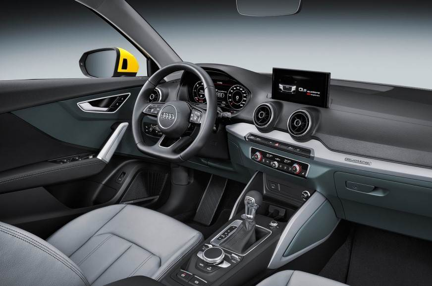 Audi Q2 interiors.