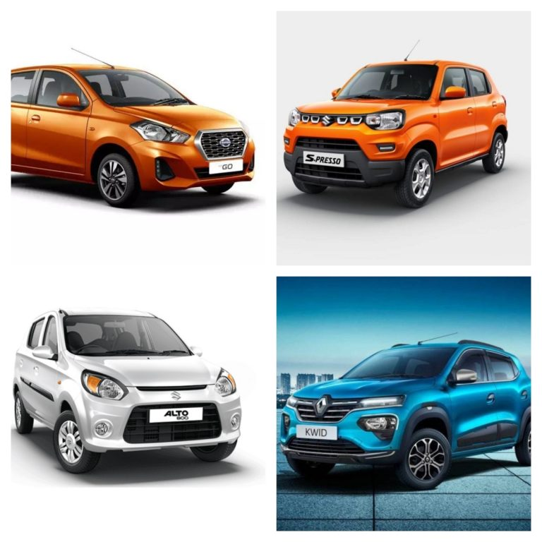 Top 5 Budget Cars (Under Rs 4 Lakh) To Go Around in Times of Covid-19