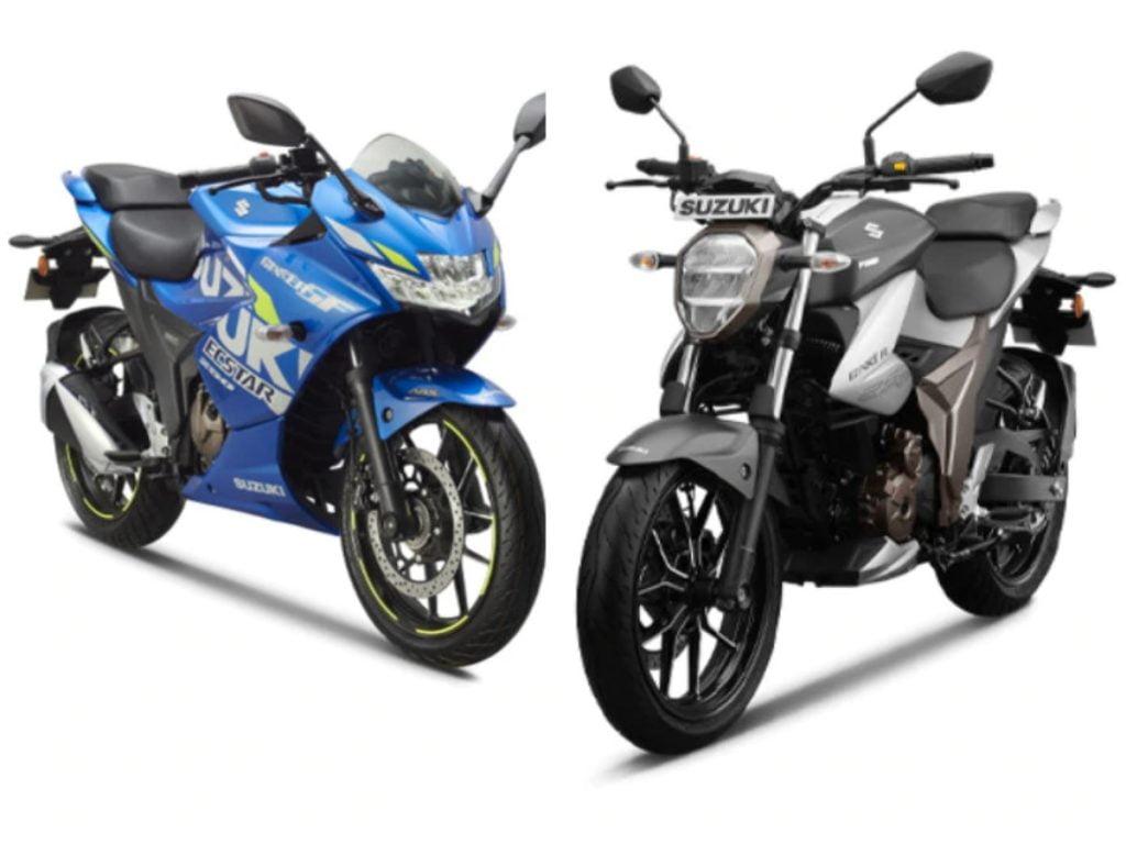 Suzuki augmente encore une fois le prix des BS6 Gixxer 250 et Gixxer SF 250.