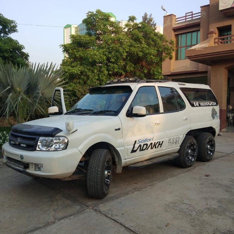 Here's A 6X6 Tata Safari Limousine That Will Blow Your Mind!