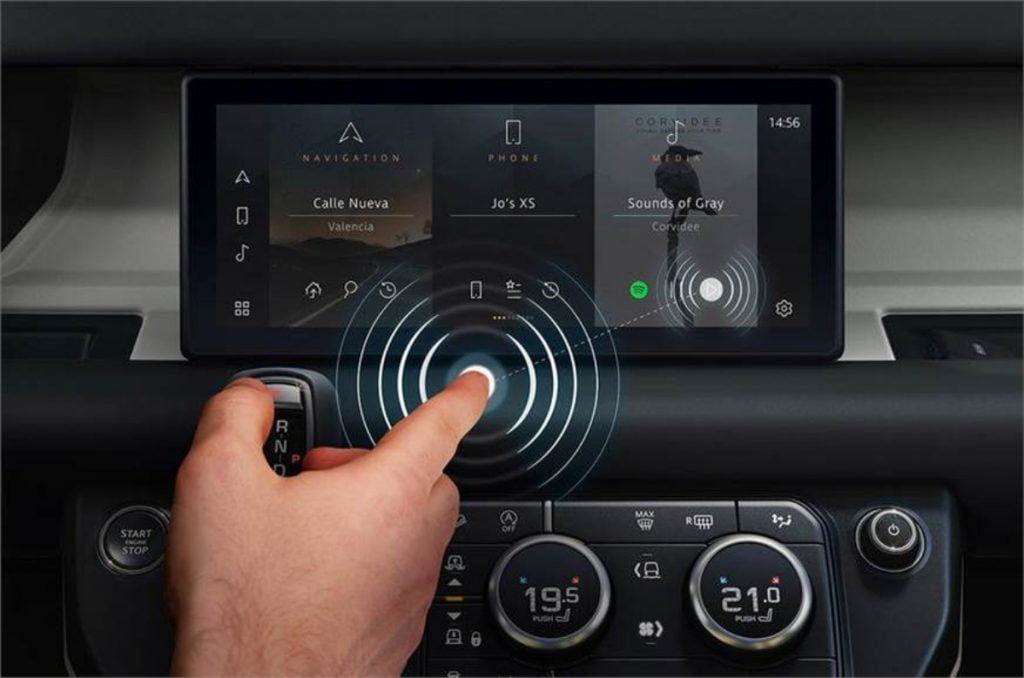 JLR's latest contact-less touchscreens in cars is all the more dangerous as you will really have to take your eyes off the road to use it.