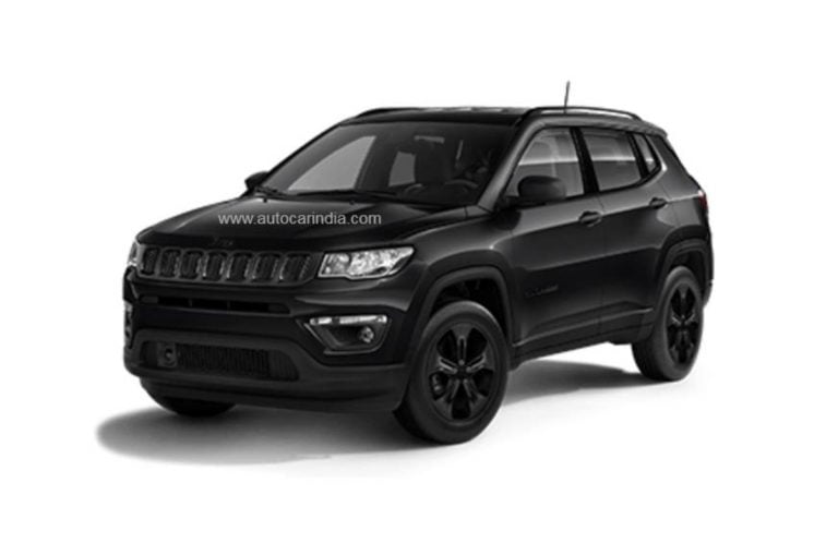 Jeep India to Launch This Stealthy Looking Compass 'Night Eagle' Variant Soon!