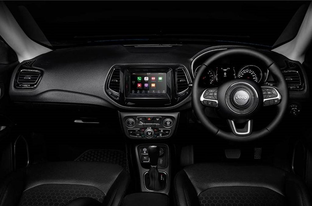 Just like the exterior, the interiors too get an all-black theme.