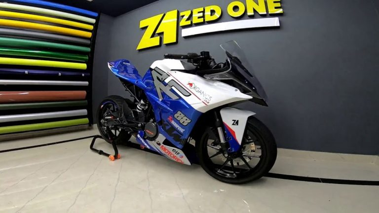 Check Out This Tastefully Modified Track Ready KTM RC 200!