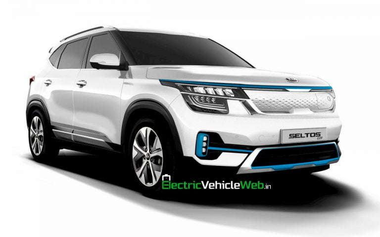 Check Out This Simple But Realistic Rendering Of Kia Seltos EV