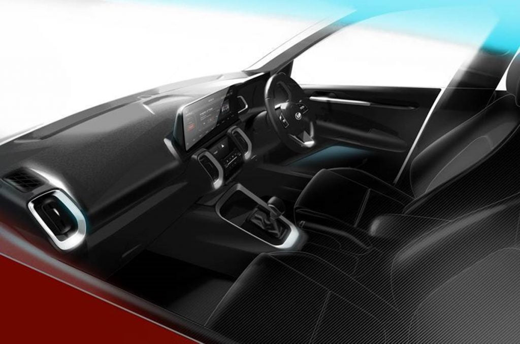 The interiors of the Kia Sonet have a very premium design and will come with many unique features.