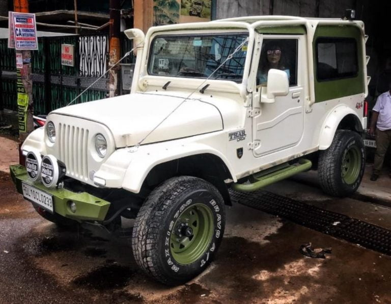 Mahindra Thar Fans, This Is How You Should Modify Your SUV!