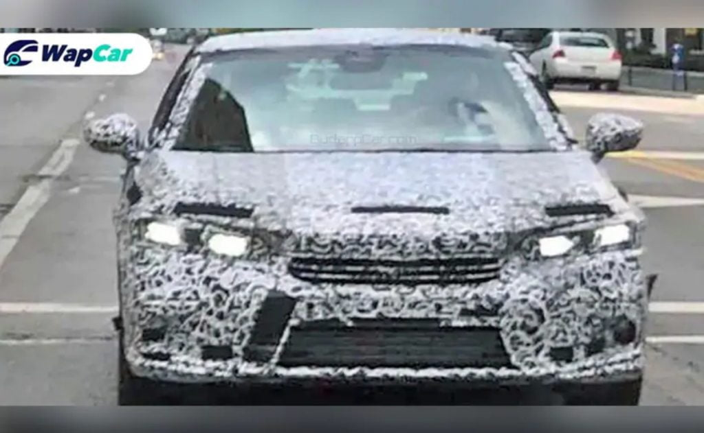 This is the next-gen Honda Civic that has been spied testing internationally.