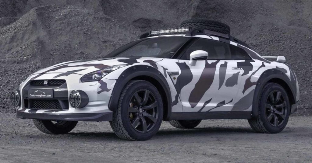 This offroad-spec Nissan GT-R has been nick named the Godzilla 2.0.