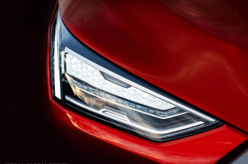 The teaser gives us certain design previews of the upcoming SUV.
