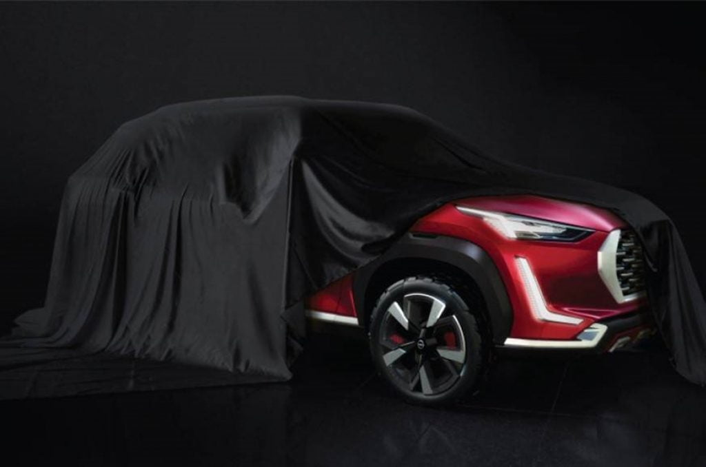 Nissan has teased its B-SUV concept which is slated to be the Magnite for India.
