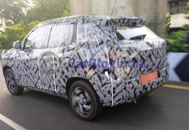 Nissan Magnite Spied Testing; Launch Confirmed For January 2021