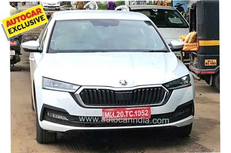 Next-Gen Skoda Octavia Spied Testing in India for the First Time