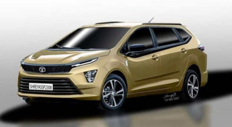 Tata Motors Reportedly Working on a Maruti Ertiga Rivaling MPV!