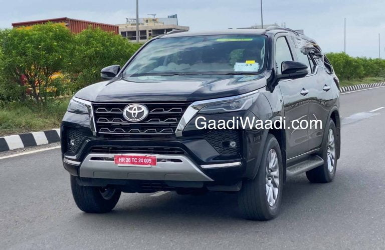 New 2020 Toyota Fortuner Makes It To India; Spied Testing For First Time