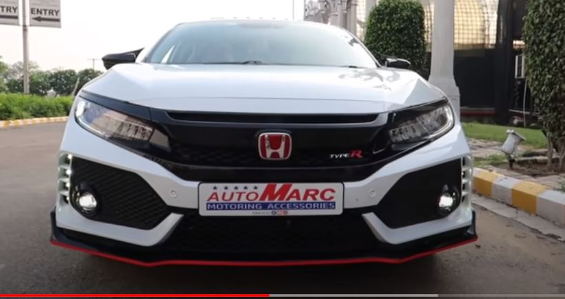 This Honda Civic in India has been modified to look like the Civic Type-R sold internationally and boy, what a mod-job!